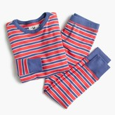 J.Crew Boys' pajama set in classic stripes