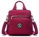SuRe Multifunction Waterproof Light Handbags Outdoor Shoulder Bags Crossbody Bags Backpack