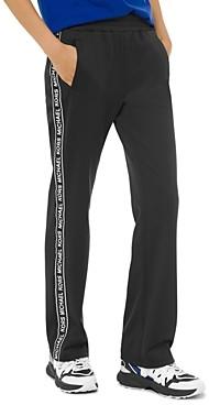 MICHAEL Michael Kors Logo Stripe Ponte Track Pants