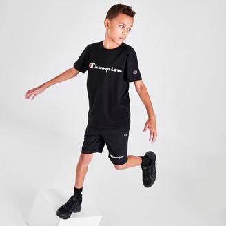 Champion Boys' Script Logo Shorts