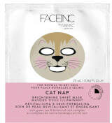 Nails Inc FACEINC by Cat Nap Brightening Sheet Mask - Revitalising and Skin Energising