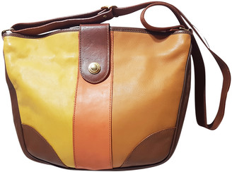 C.b. Made In Italy Multicolour Leather Handbags