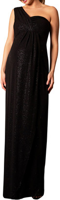 Tiffany & Co. Rose Maternity Galaxy One-Shoulder Column Gown