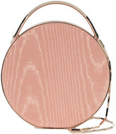 Eddie Borgo mini wood print circle tote