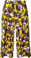 P.A.R.O.S.H. floral cropped trousers - women - Cotton - S