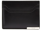Tod's Logo-plaque leather cardholder