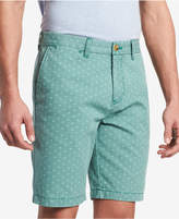 """Tommy Hilfiger Men's Victor Diamond Dot-Print 9"""" Shorts, Created for Macy's"""