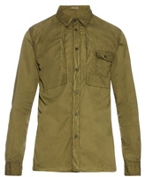 Bottega Veneta Point-collar Long-sleeved Cotton Shirt