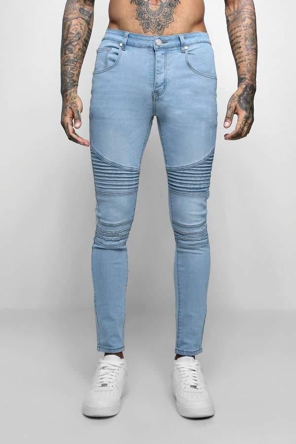 7d82f036164d Boohoo Biker Jeans - ShopStyle