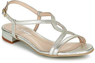 Betty London MATISSO women's Sandals in Silver