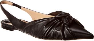 Jimmy Choo Annabell Leather Slingback Flat