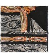 Etro oriental print scarf