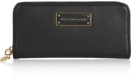 Marc by Marc Jacobs Too Hot to Handle textured-leather wallet