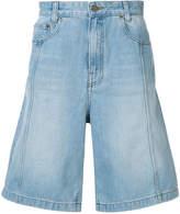Juun.J washed denim shorts