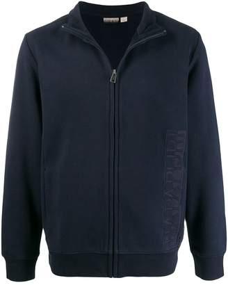 Napapijri zipped logo sweater