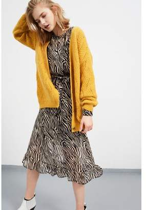 Set Fashion - Zebra Print Maxi Dress - 40