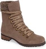 Sole Society Faux Shearling Trim Ada Boot (Women)