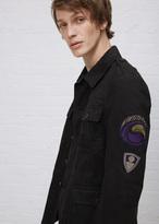 Dries Van Noten black baez jacket