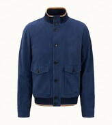 Tod's Tods Bomber in Suede