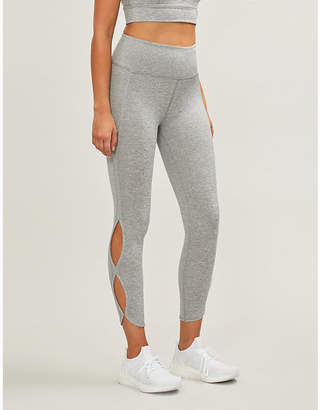 Free People Infinity cropped high-rise stretch-jersey leggings