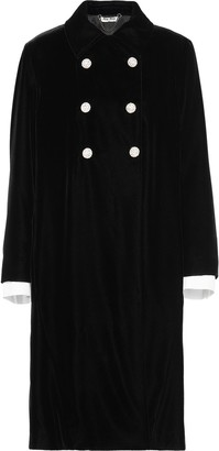 Miu Miu Straight-Fit Double Breasted Coat