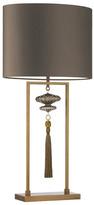Heathfield & Co Constance Table Lamp Large Antique Brass - Bronze Gold Satin