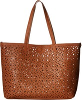 Gabriella Rocha Finola 3-in-1 Laser Cut Reversible Tote with Inside Bag