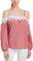 Romeo & Juliet Couture Gingham Top