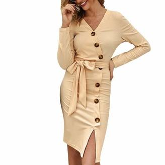 7Lucky Women's Slim Dress