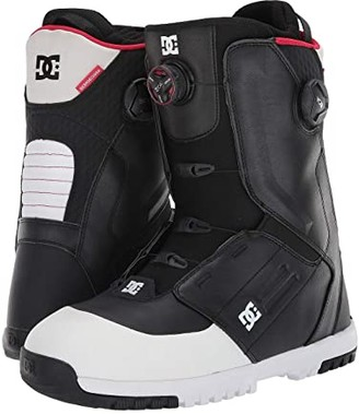 DC Control Dual BOA(r) Snowboard Boots (Black) Men's Snow Shoes