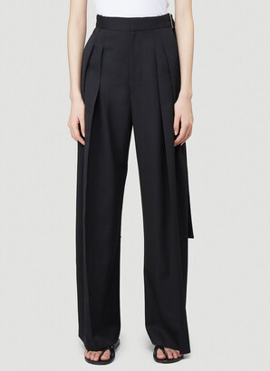 J.W.Anderson Side Buckle Wide Leg Pants