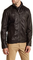 Timberland Mount Major Genuine Leather Bomber Jacket