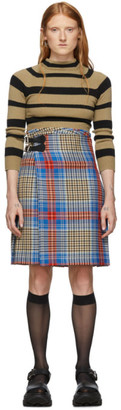 Charles Jeffrey Loverboy Multicolor Tartan Shepherds Kilt