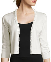 Ronni Nicole RN studio by 3/4-Sleeve Pearl Shrug