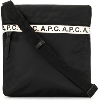 A.P.C. Logo-Embellished Messenger Bag