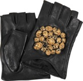 Karl Lagerfeld Geostone Fingerless Gloves SM