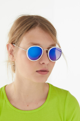 Urban Outfitters Riley Round Aviator Sunglasses