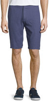 Neiman Marcus Textured Neat Shorts, Harbour