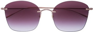 Oliver Peoples Rimless Sunglasses