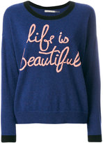 Alice + Olivia Alice+Olivia Life Is Beautiful sweater