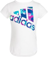 adidas All Star T-Shirt - Cotton Blend, Short Sleeve (For Little Girls)