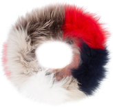 Jocelyn faux fur collar scarf