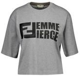 Fendi Crop-top T-Shirt