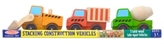Melissa & Doug Kids Toy, Stacking Construction Vehicles