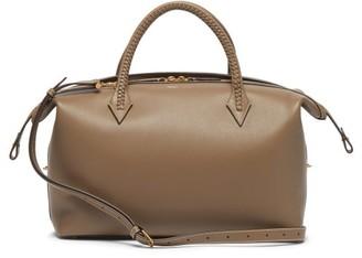 Metier - Perriand City Medium Leather Shoulder Bag - Grey