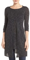 Dex Split Front Knit Tunic