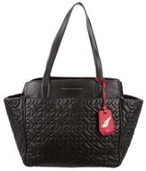 Diane von Furstenberg On The Go Quilted Chain-Link Tote