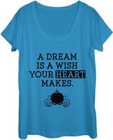 Fifth Sun Cobalt 'A Dream is a Wish' Tee - Juniors