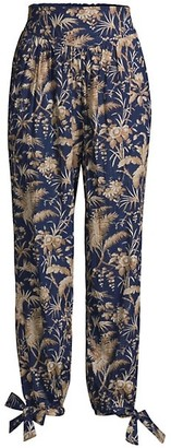 Rebecca Taylor Talita Gauze Tie Pants