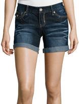 Ariya Curvy Denim Low-Rise Shorts - Juniors